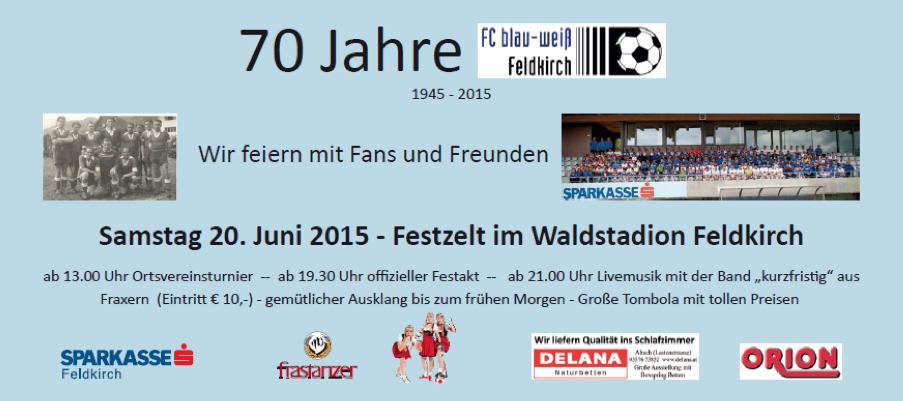 70 Jahre BW Feldkirch