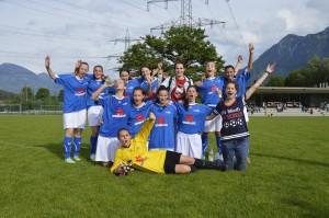 Unsere stolzen Landesmeisterinnen.