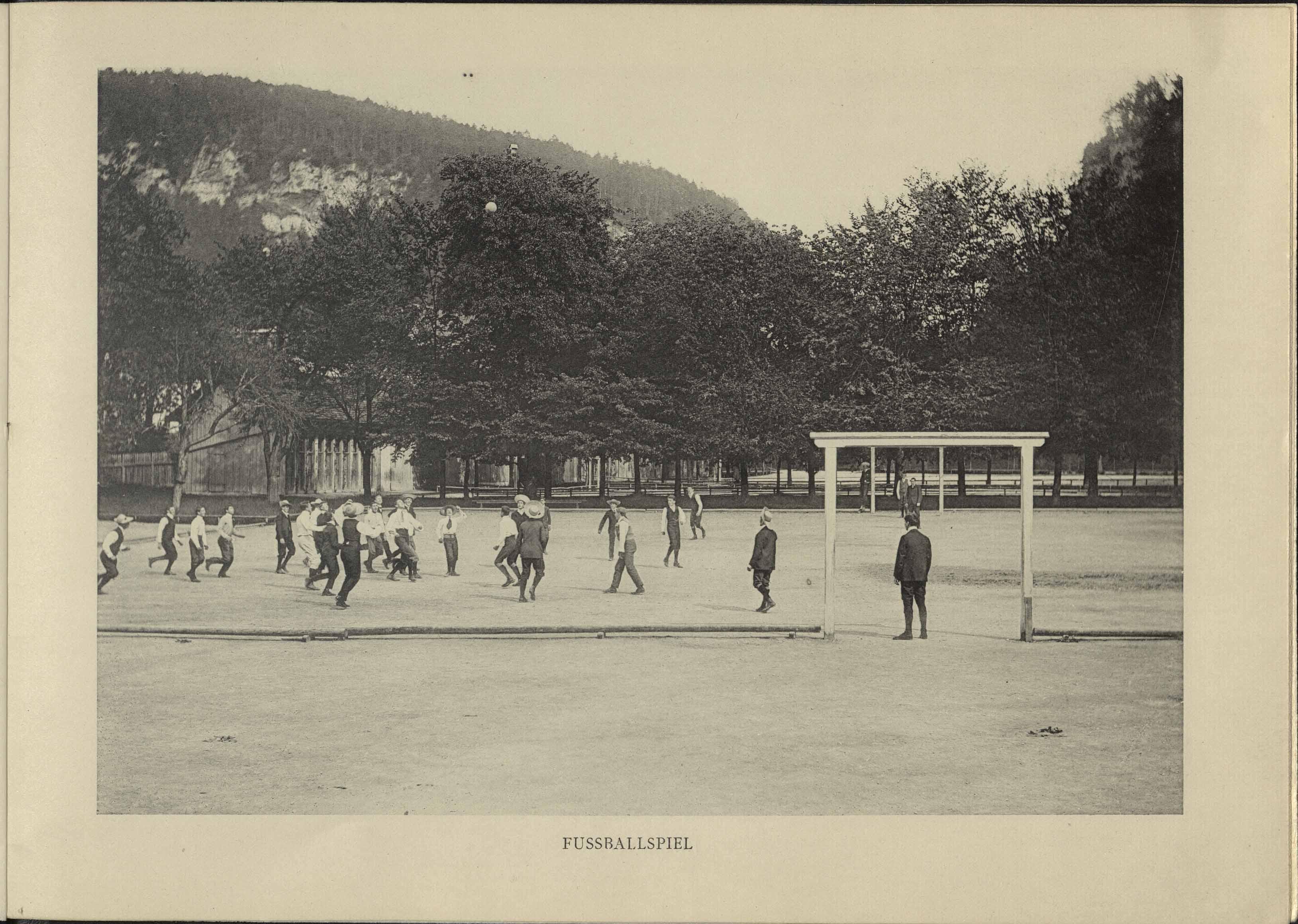 Fussballspiel 1904